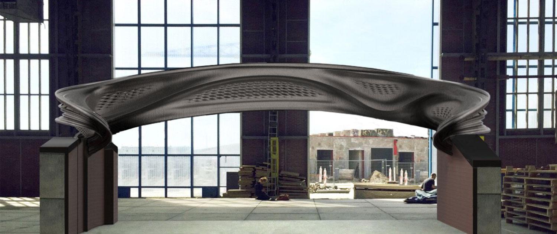 3d Metal Printing >> MX3D Bridge